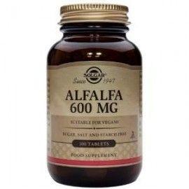 SOLGAR ALFALFA 600MG. 100 COMPRIMIDOS