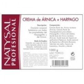 NATYSAL ARNICA Y HARPAGOPHYTUM CREMA 1KG.