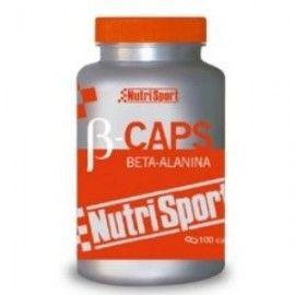NUTRISPORT B CAPS BETA ALANINA 100 CÁPSULAS