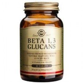 SOLGAR BETA 1,3 GLUCANOS 60 COMPRIMIDOS