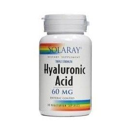 ACIDO HIALURONICO 60MG SOLARAY 30 CÁPSULAS