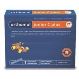 ORTHOMOL JUNIOR C PLUS 7 SOBRESGRANULADO