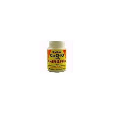 COENZIMA Q10 20MG HEALTH AID 30 COMPRIMIDOS