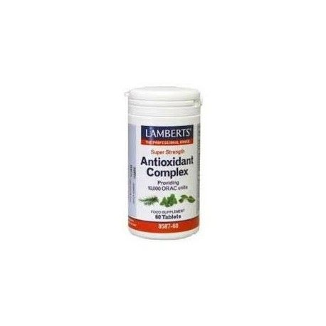 ANTIOXIDANTE LAMBERTS 60 COMPRIMIDOS