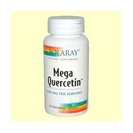 MEGA QUERCITIN 600MG SO SOLARAY 60 CÁPSULAS