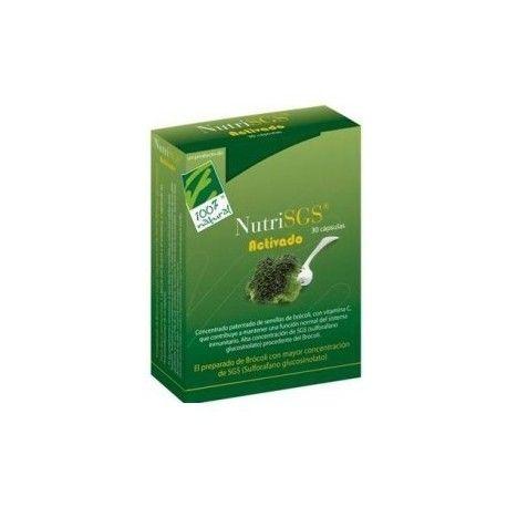 NUTRISGS BROCOLI 100 % NATURAL 30 CÁPSULAS