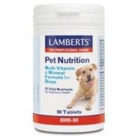 LAMBERTS PET NUTRITION VIT. Y MIN. PARA PERROS 90 COMPRIMIDOS