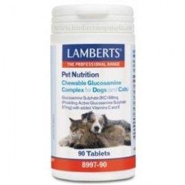 LAMBERTS PET NUTRITION glucosamina perros-gatos 90comp.mast