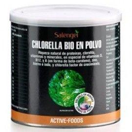 ACTIVE FOODS CHLORELLA BIO polvo300gr.