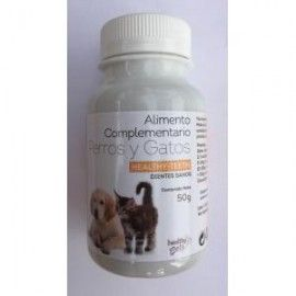 HEALTHY PETS HEALTHY TEETH DIENTES SANOS VETERINARIA 50GR.