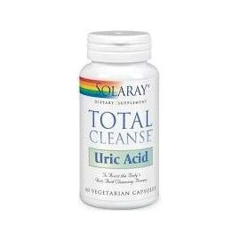 TOTAL CLEANSE URIC ACID SOLARAY 60 CÁPSULAS