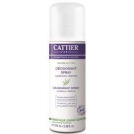 CATTIER DESODORANTE BRUME ACTIVE MUJER SPRAY 100ML