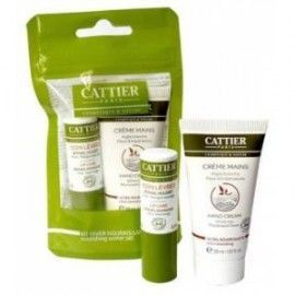 CATTIER KIT INVIERNO NUTRITIVO BALSAMO LABIAL+CREMA MANOS