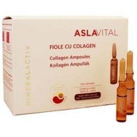 ASLA VITAL (DRA. ANA ASLAN) AMPOLLAS DE COLAGENO hidratante 10ampollas