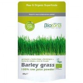 BARLEY GRASS RAW hierba cebada 200gr. BIO