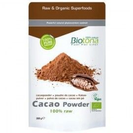 CACAO RAW POWDER 200gr. BIO