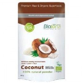 COCONUT MILK POWDER leche de coco natual 200gr BIO