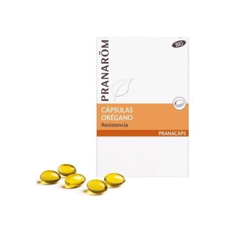 Aceite esencial de oregano pranarom 30 capsulas