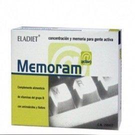 MEMORAM 500MG ELADIET 60 COMPRIMIDOS
